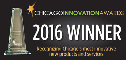 Chicago Innovation Awards 2016 Winner badge