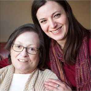 Tara Nofziger and her mother
